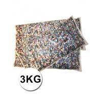 Bellatio Luxe confetti 3 kilo multicolor