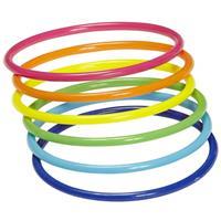 Bellatio Neon armbandjes 18 stuks