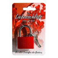 Rood liefdesslot 3,8 cm