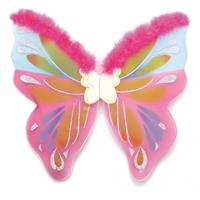 Bellatio Vlinder vleugels gekleurd Roze