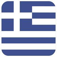 Shoppartners Bierviltjes Griekse vlag vierkant 15 st