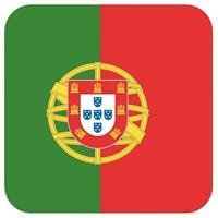 Shoppartners Bierviltjes Portugese vlag vierkant 15 st