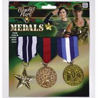 Bellatio Militaire medailles 3 stuks Multi