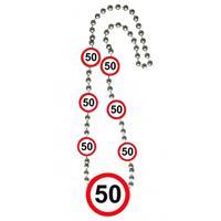 Folat Ketting 50 jaar verkeersborden