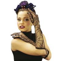 Bellatio Spinnenweb handschoenen