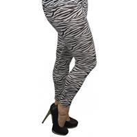 Bellatio Zebra legging voor dames