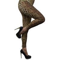 Bellatio Luipaard legging voor dames
