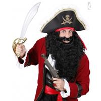 Bellatio Lange zwarte piraten baard