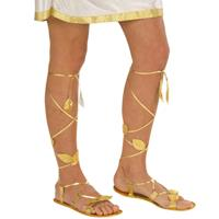 Bellatio Romeinse gouden sandalen Goudkleurig