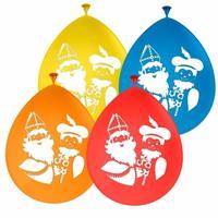 Folat Sinterklaas - Sinterklaas en Pieten ballonnen 8 stuks