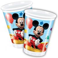 Disney Feestbekers Mickey Mouse 200 ml