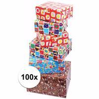 Sinterklaas - Sinterklaas kadopapier 100 rollen