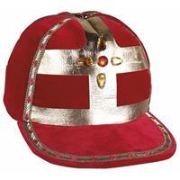 Bellatio Sinterklaas - Luxe Sinterklaas werkmijter fluweel
