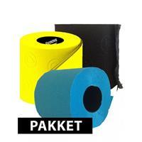 Bellatio Gekleurde wc papier pakket type A