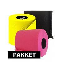 Bellatio Gekleurde wc papier pakket type B