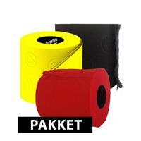 Bellatio Gekleurde wc papier pakket type C