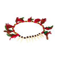 Bellatio Gekleurde indianen ketting