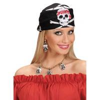 Bellatio Doodskop bandana piraat
