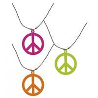 Bellatio Neon hippie ketting groen