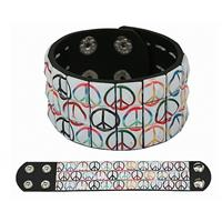 Bellatio Hippie armband peace