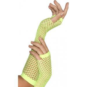 Smiffys Visnet handschoenen groen