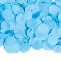 Luxe confetti 1 kilo kleur lichtblauw