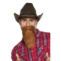 Bellatio Cowboy baard rood