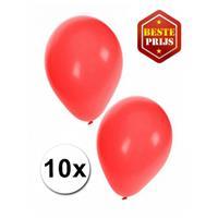 Shoppartners Rode ballonnen 10 stuks