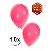 Shoppartners Roze ballonnen 10 stuks