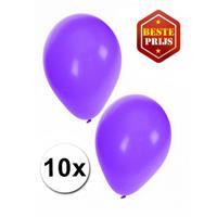 Shoppartners Paarse ballonnen 10 stuks