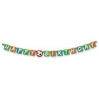 Basic Sportieve Goal Happy Birthday Letterslinger
