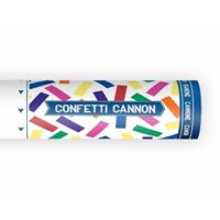 Bellatio Confetti kanon kleuren mix 20 cm