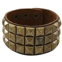 Bellatio Punk armband goud