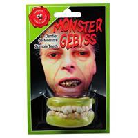 Bellatio Zombie gebitje voor boven en onder tanden