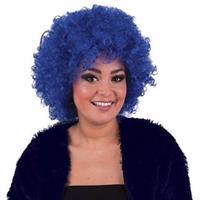 Bellatio Blauwe afropruik