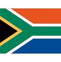 Shoppartners Vlag Zuid Afrika stickers