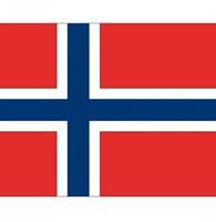 Shoppartners Vlag Noorwegen stickers