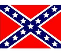 Shoppartners Vlag USA rebel stickers