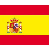 Shoppartners Vlag Spanje stickers