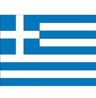 Shoppartners Vlag Griekenland stickers