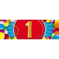 Shoppartners 1 jaar sticker