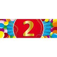 Shoppartners 2 jaar sticker