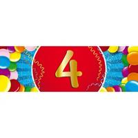 Shoppartners 4 jaar sticker