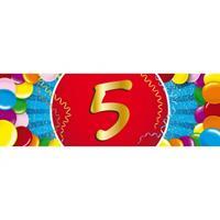 Shoppartners 5 jaar sticker