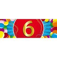 Shoppartners 6 jaar sticker