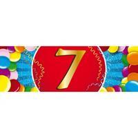 Shoppartners 7 jaar sticker