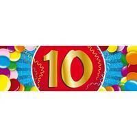Shoppartners 10 jaar sticker