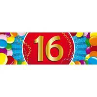 Shoppartners 16 jaar sticker