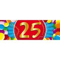 Shoppartners 25 jaar sticker