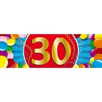 Shoppartners 30 jaar sticker
